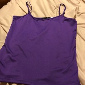 Purple tank top